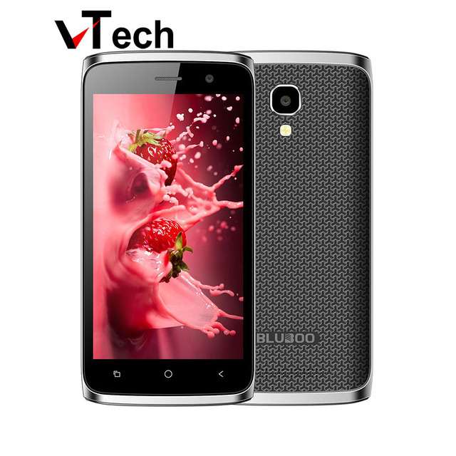 "Original Bluboo Mini 4.5"" Android 6.0 MT6580M Quad core Cell phones 1G RAM 8G ROM Mobile Phone 3G WCDMA Dual SIM Smartphone"