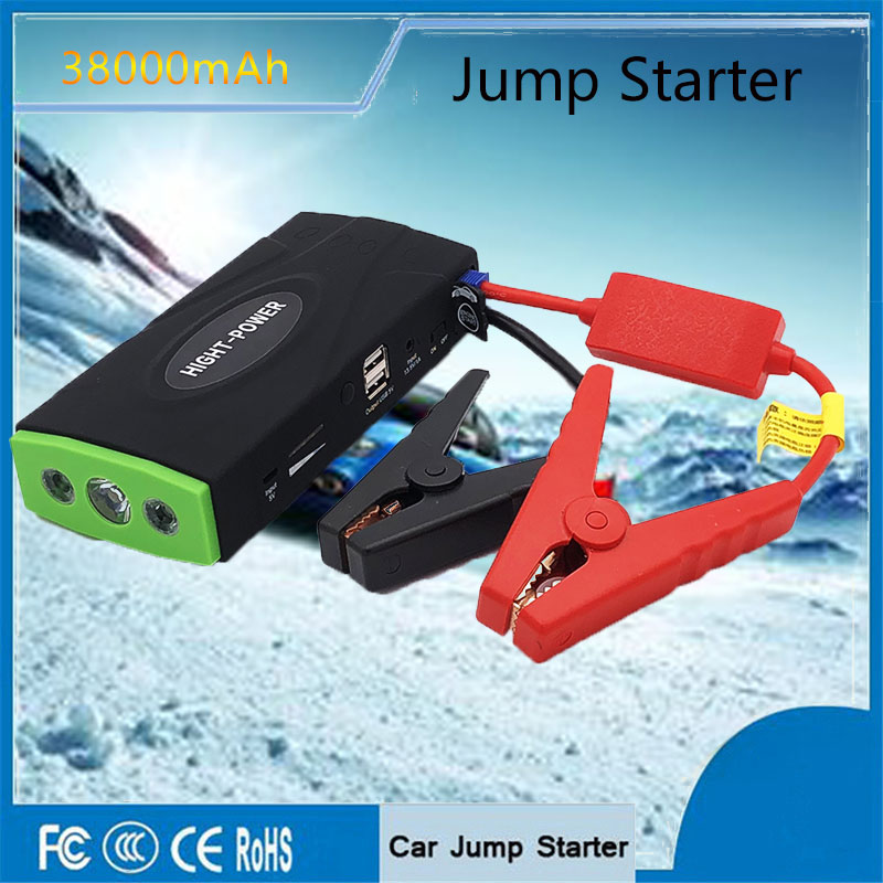 Emergency Starting Device Car Jump Starter 12V 600A Portable Power Bank Car Charger for phone Auto Motor Battery for Booster 12v mini portable 82800mah led car jump starter engine auto emergency starting device power bank car phone charger with 4usb