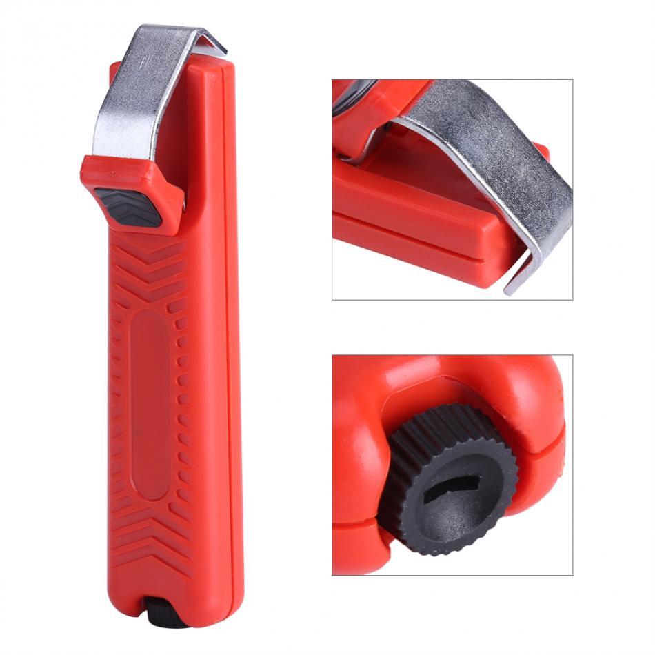 Werkzeuge Zangen Ordentlich Tragbare Draht Stripper 8-28mm Mini Messer Abisolierzange Abisolieren Cutter Zange Crimpen Werkzeug Für Pvc Gummi Kabel Rot Komplette Artikelauswahl