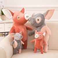 New Kawaii Thú Nhồi Bông Đồ Chơi Con Lợn Bé Plush Đồ Chơi Sleeping Con Búp Bê Sang Trọng for Kids Quà Giáng Sinh