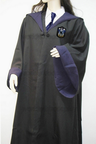 Free Shipping Harry Ravenclaw Luna Lovegood Cosplay Robe Skirt Uniform for Halloween and Christmas