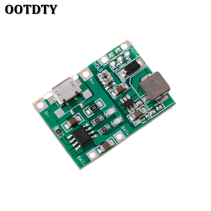 OOTDTY Lithium Li-ion 18650 3.7V 4.2V Battery Charger Board DC-DC Step Up Boost Module