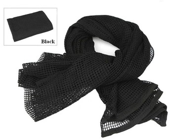 190*90cm Cotton Military Camouflage Tactical Mesh Scarf Sniper Face Veil Camping Hunting Multi Purpose Hiking Scarve 6