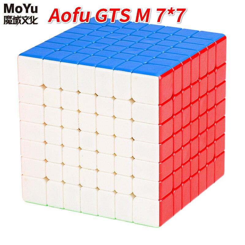 Newest MoYu Aofu GTS M 7x7x7 Magnetic Speed Puzzle Cube Professional MagicCube Cubo Magico Aofu GTSM