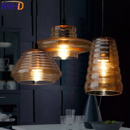 IWHD Glass Lampara Vintage Pendant Light Style Loft Vintage Pendant Lights Living Room Bae Kitchen Lamps Hanglamp Luminaire iwhd glass lampara vintage pendant light style loft vintage pendant lights living room bae kitchen lamps hanglamp luminaire