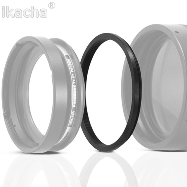 Hot Sale 37 49 52 55 58 62 67 72 77 82 mm Lens Step Up Down Ring Filter All Camera Adapter Set 1