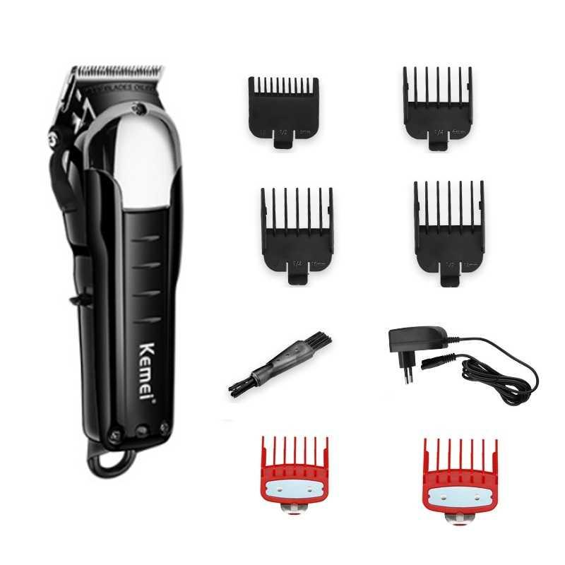 コードレスマジックバリカンプロのヘアトリマー男性電気髭カッター毛髪切断装置の散髪理髪店ツール