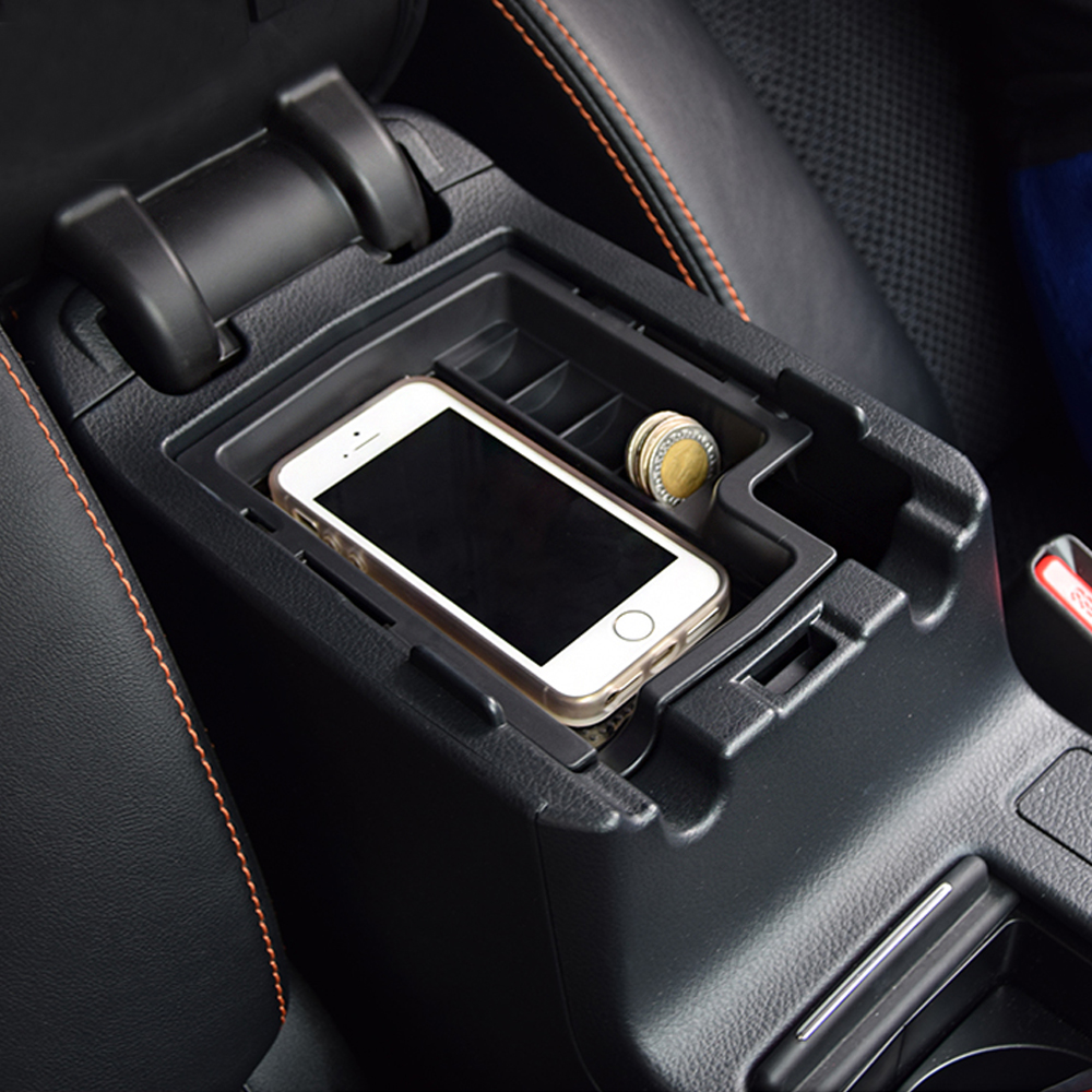 Bandeja automotiva adequada para subaru xv, armazenamento de apoio para braços, cabe em subaru xv 2012-2015, acessórios para carros