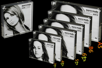 8*10 inches acrylic magnetic photo frame poster label sign display stand label desktop display
