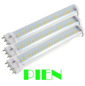2g11 led tube PL- L 230mm 9w 2835 smd led tube lamapras to replace 60w fluorescent warm white 90V-230V Free shipping 1pcs 9w 10w smd led pl tube pl energy savin lamp 850lm ac100 240v clear