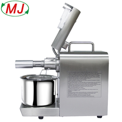 Hot Sales oil press machine with stainless steel for peanut,coconut,sunflower oil extract