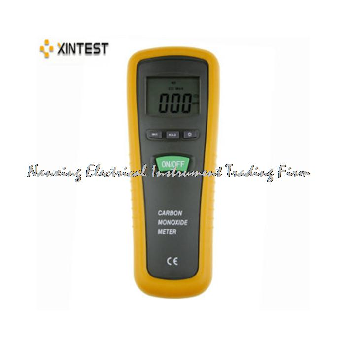 HT-1000H Handheld Digital Carbon Monoxide Meter with High Precision CO Gas Tester Monitor Detector Gauge 0-1000ppm gm8805 portable handheld carbon monoxide meter high precision co gas detector analyzer measuring range 0 1000ppm detector de gas