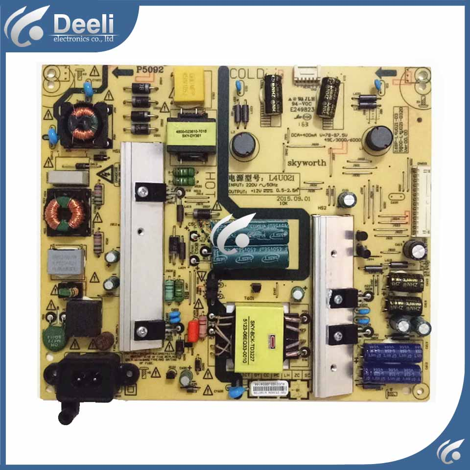 good Working original used for power supply board 5800-L4U021-0310 168P-L4U021-03 original 32s12hr 32k03hr 32l05hr power supply board 168p p32alk 00 10