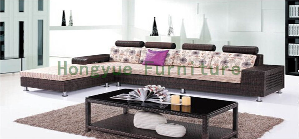 Wicker Sofa Set With Cushion Living Room Sofa Furniture