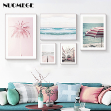 Scandinavian Style Poster and Prints Sea Beach Canvas Painting Wall Art Decortions Picture for Living Room Modern Home Decor