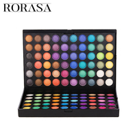 Professional Three Layer Eye Shadow Pallette Earth Makeup Easy To Wear Matte Shimmer Shades Waterproof Lasting Make Up 180 Color