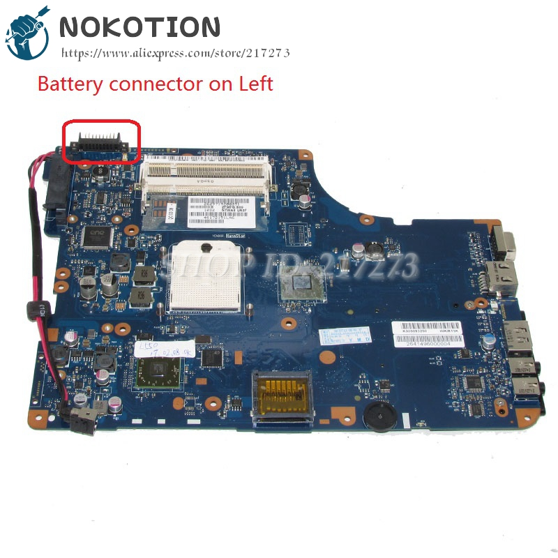 NOKOTION K000093250 NSWAE LA-5332P Laptop Motherboard For Toshiba satellite L555 L555D L550D Main Board laptop motherboard for toshiba satellite l550 l555 k000092150 la 4982p kswaa 46179151lb2 100 page 2