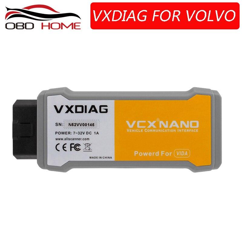 VXDIAG Dice Diagnostic-Tool Powerful VCX Volvo with Multi-Language for Car Than Vida
