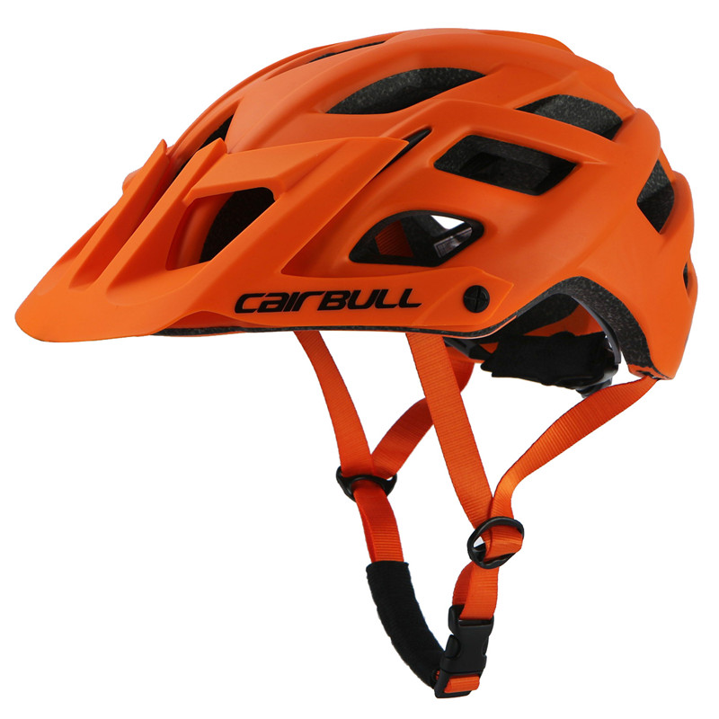2018New TRAIL XC Bicycle Helmet All-terrai MTB Cycling Bike Sports Safety Helmet OFF-ROAD Super Mountain Bike Cycling Helmet BMX child bicycle helmet safety mountain road bike helmet for skating skateboard climbing mtb bmx cycling helmet orange l