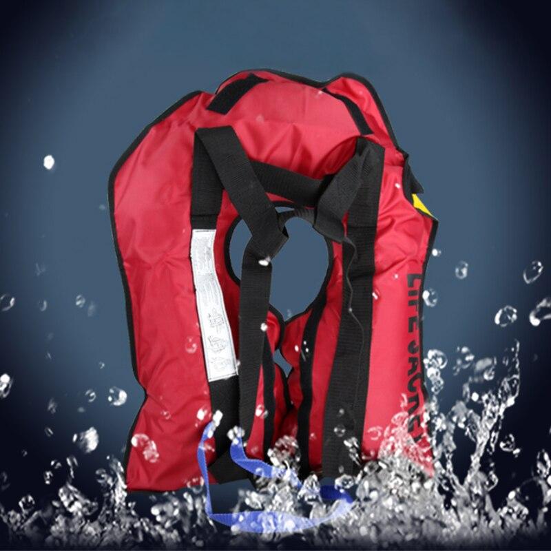 Автоматическая надувная Спасательная куртка, плавающая куртка, рыбацкий жилет, байдарка, Спасательная куртка, профессиональный спасательн...