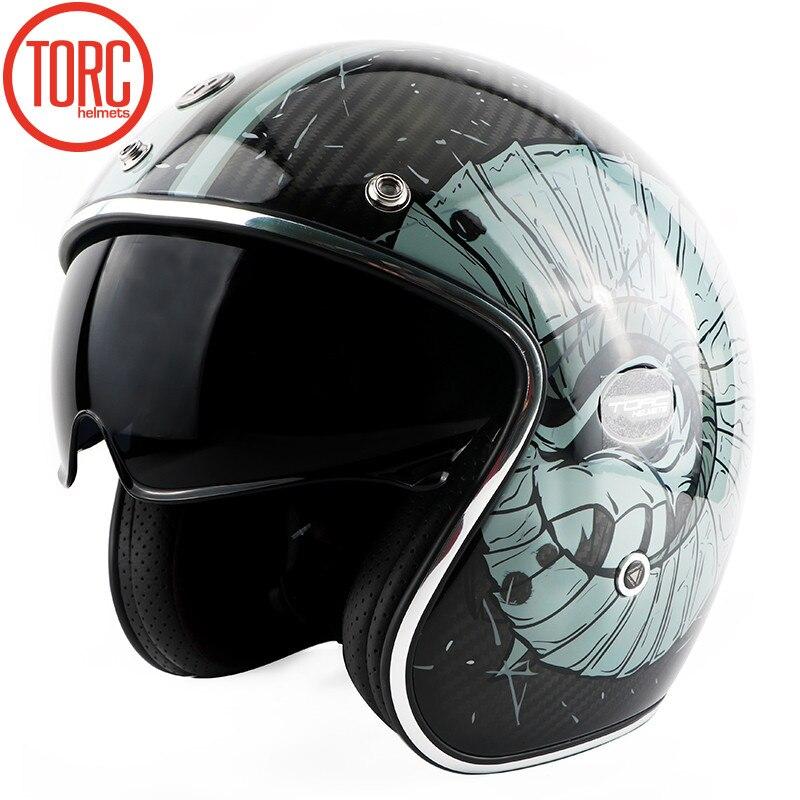 New TORC <font><b>motorcycle</b></font> retro car carbon fib