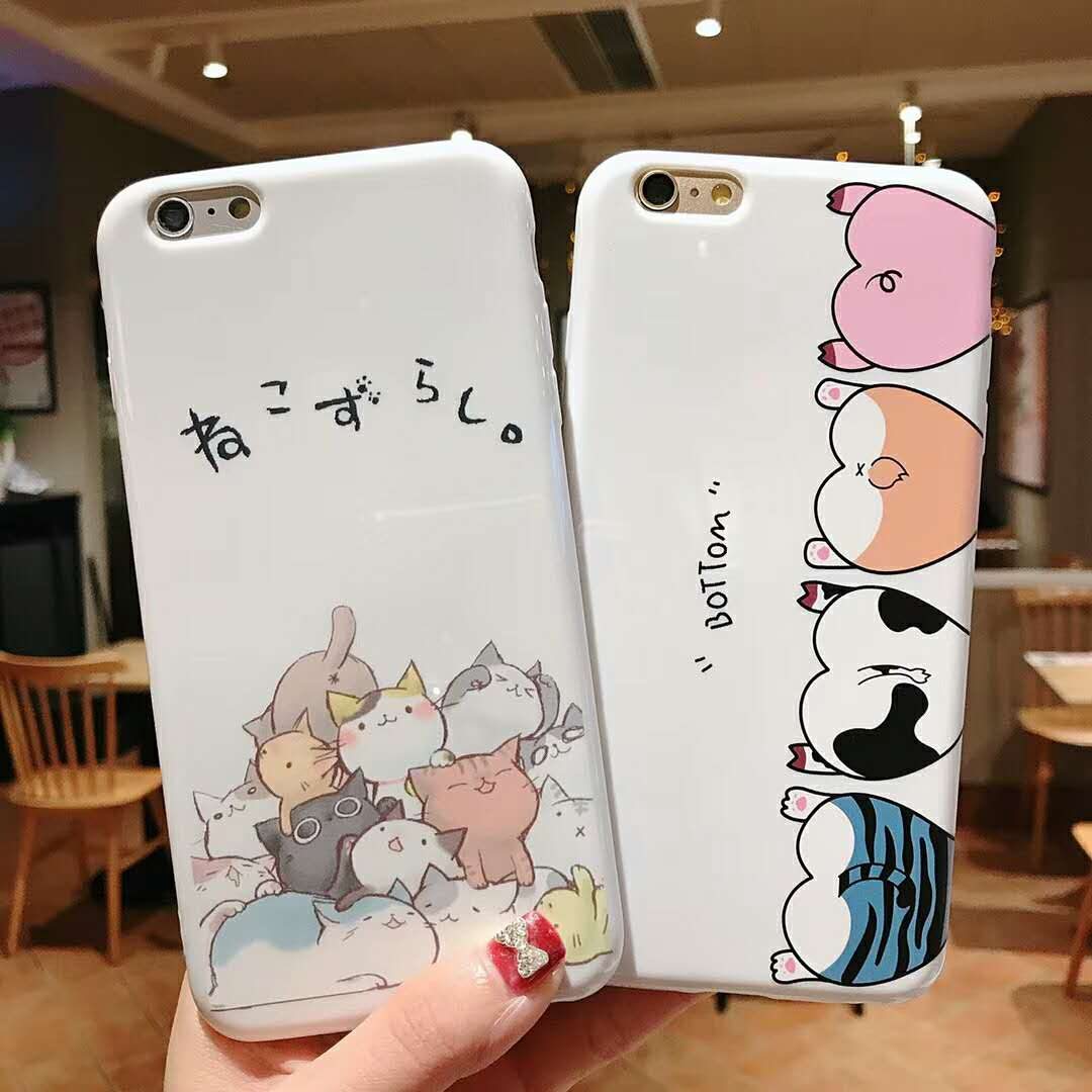 Cell Phones & Accessories Alert Fashion 3d Embroidery Pig Lovers Soft Phone Case Cover For Apple Iphone 6-xs Max
