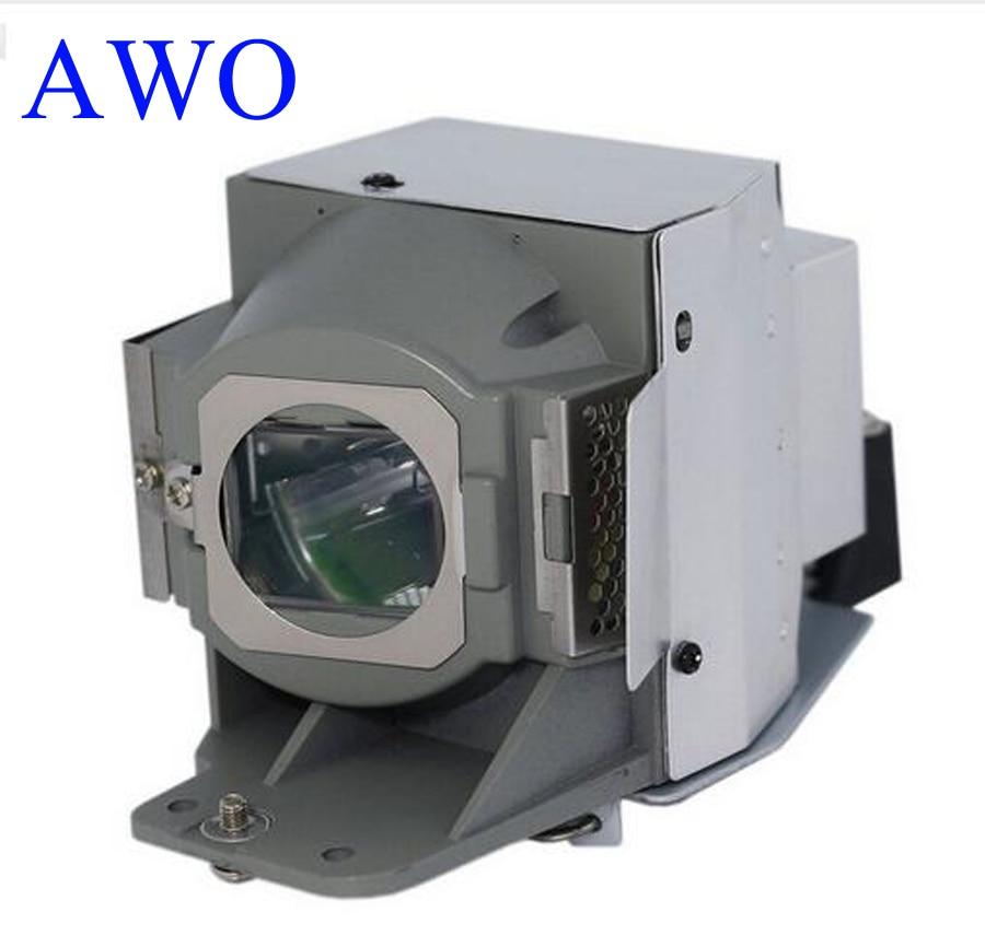 AWOs 5J.J7L05.001 Nadomestna sijalka projektorja s ohišjem za - Domači avdio in video - Fotografija 1