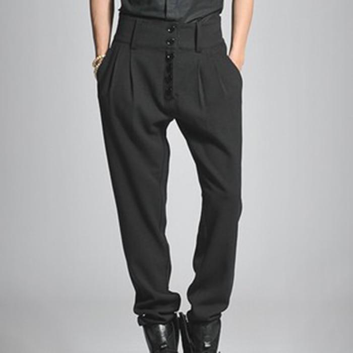 27 Hommes De Cut Black Grands Boot Occasionnel 44 Pantalon La Boutons En 2017 Haute Jeans Mâle Chantiers Taille Beau Harem EIfqwIx8