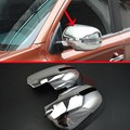 ABS Chrome Side Mirror Cover Trim For Mitsubishi Outlander 2016 2017