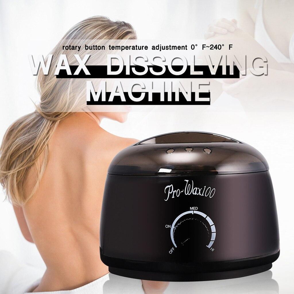 Body Hair Removal Hot Wax Warmer Kit Pot Hard Wax Beans Applicator