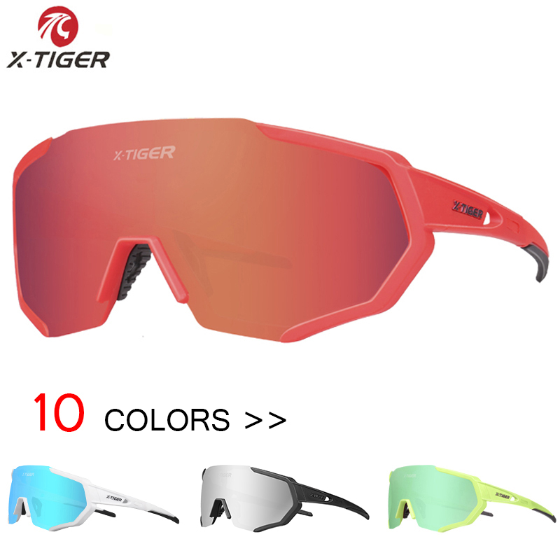X-TIGER Pro Cycling Eyewear Cycling Sunglasses Bicycle Sun glasses Gafas ciclismo Bike Goggles Outdoor Sports Cycling glasses