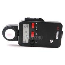 """F4 1.9 """"LCD דיגיטלי רעיוני/אירוע/פלאש אור פנס מד Tester סיליקון כחול סלולרי עבור DSLR SLR מצלמה"""