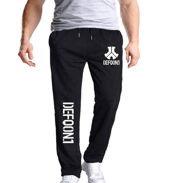 New Autumn Mens Joggers Defqon 1 Fitness Casual Joggers Sweatpants Bottom Music Concert DJ For Cool And Fashion Pants For Men 2
