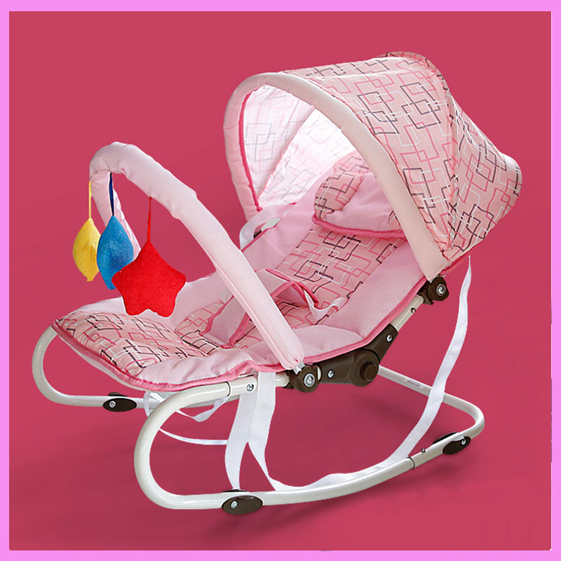 Multifunctional Newborn Baby Cradle Bouncer Swing Chair Portable Baby Rocking Crib Chair Nursery Infant Seat Bouncer Rocker mutifunctional portable adjustable infant baby swing rocking chair for newborn cradle lounge recliner recliner baby toys