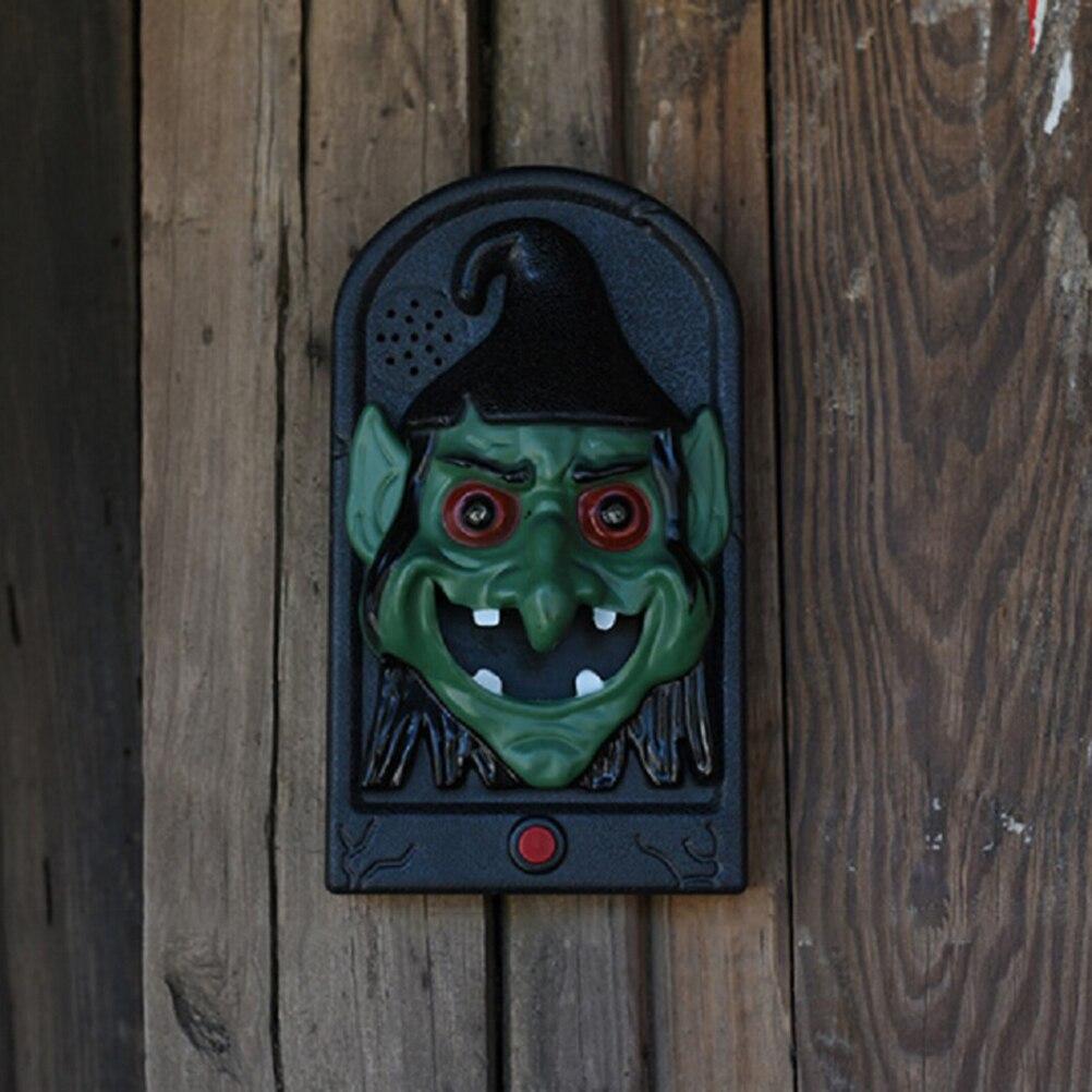 1PC Creepy Unique Creative Door Decorations Prop Green