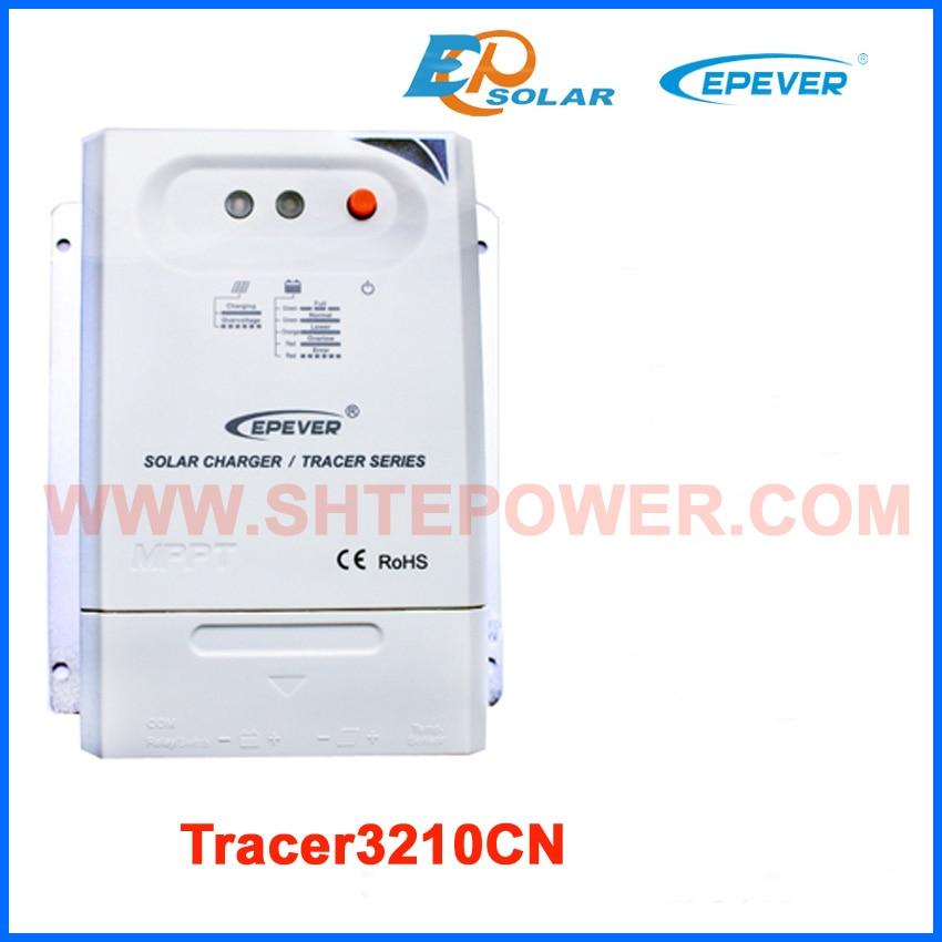 купить mppt regulator EPsolar Solar Charger Controller 30A Tracer3210CN low price to France/AU,12V/24V Battery charger auto work недорого