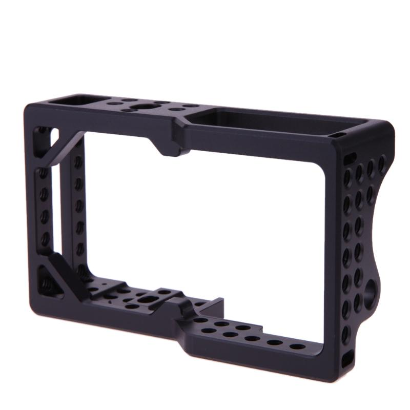 2017 New Protective Video Camera Cage Protector Stabilizer for BMPCC Camera for Sony A6000 A6300 Mount