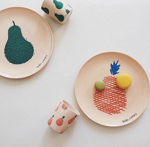 4PCS/Lot Baby Plates pratos Kids Safety Melamine Fedding Plates prato infantil Fruit Dinnerware Dishes & 4PCS/Lot Baby Plates pratos Kids Safety Melamine Fedding Plates ...