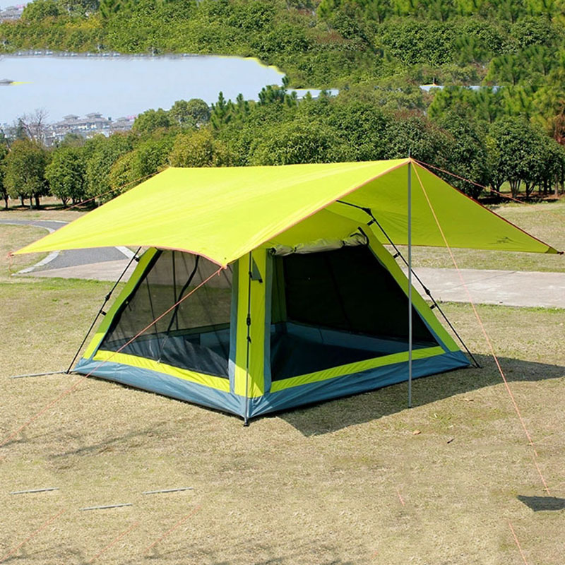Wnnideo Outdoor Big Canopy Tent UV Protection for Shadow C&ing Hiking Traveling Parties Ultralight Wholesale -in Tents from Sports u0026 Entertainment on ... & Wnnideo Outdoor Big Canopy Tent UV Protection for Shadow Camping ...