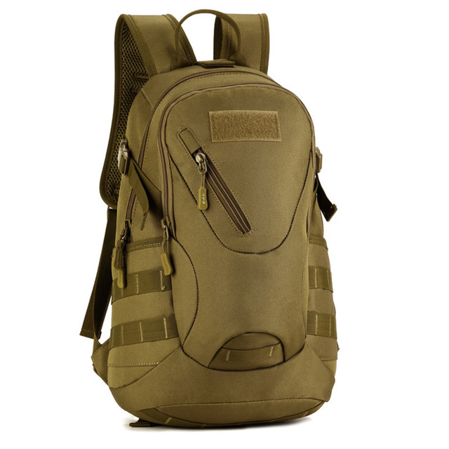 Waterproof 3D Military Tactics Backpack Rucksack Bag 20L for Hike Trek  Camouflage Travel Backpack X67 121114dd124f7