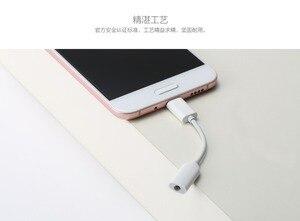 Image 4 - Orijinal Xiaomi USB3.1 Tip C için 3.5mm Kulaklık Adaptörü USB 3.1 C Tipi C Tipi USB C erkek 3.5 AUX ses kadın Mi6 P10 S8