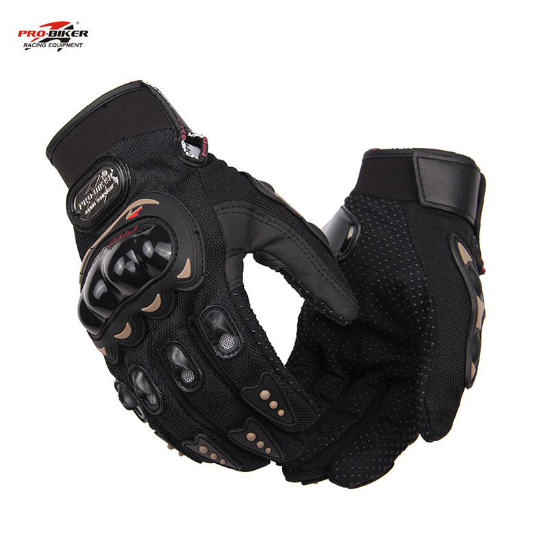 Pro-biker guantes de moto deportes al aire libre completo dedo guantes moto moto
