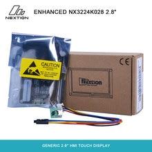 Nextion Geliştirilmiş NX3224K028 Genel 2.8 HMI Dokunmatik Ekran Dahili RTC/8 dijital GPIO/Büyük Flaş Kapasitesi uygulanan IoT