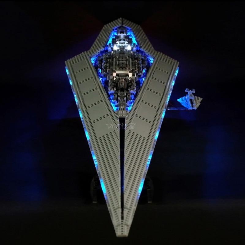 Lego 10221 Led Light Star Destroyer Brickkits (LED light+Battery box)
