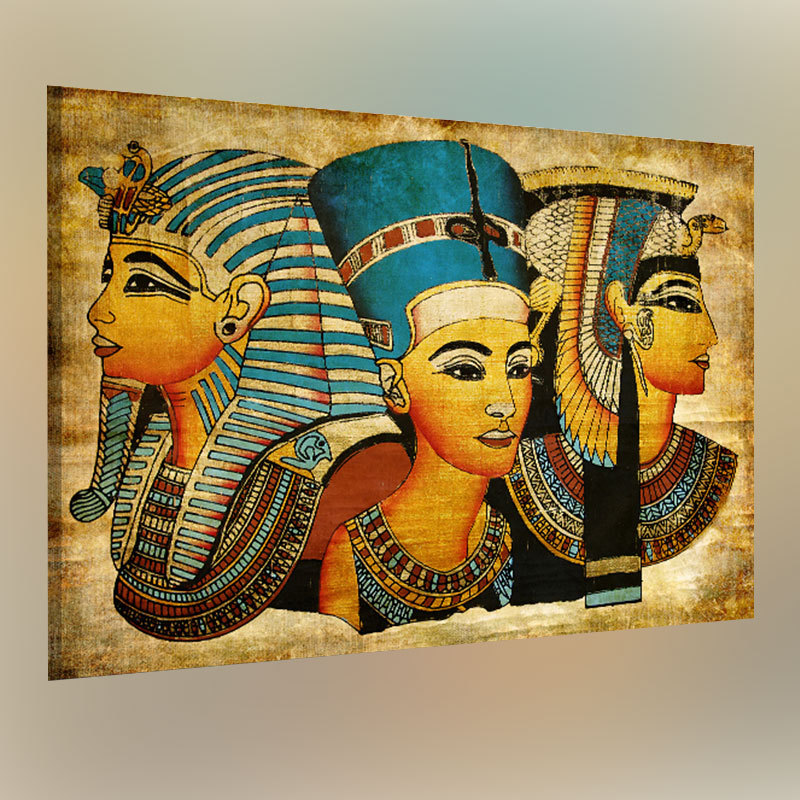 Retro Modern Ancien Egyptian Murals Full Image Oil Painting Home Decor Egypt Oil Painting 40x60cm Wall Pictures For Living Room