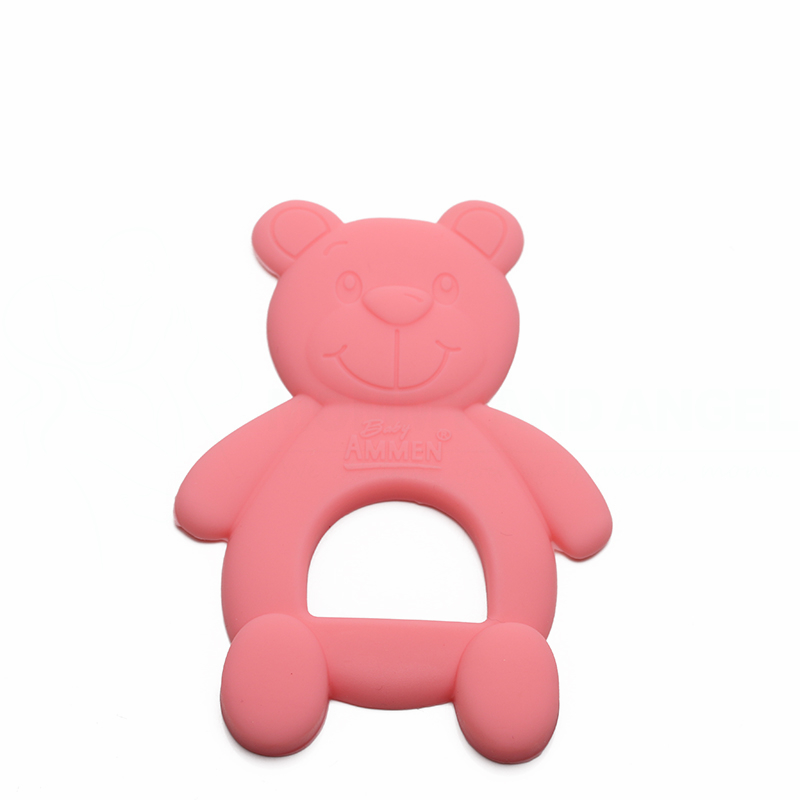 Soft Teeth Stick Teether Chew Toy For Baby Kids Silicone Food Feeder US