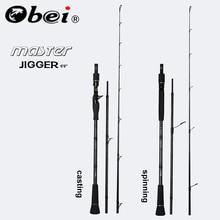 Obei MASTER Boat Fishing Rod Slow jigging  100-500G travel Spinning Casting lure rod 30-80IB fishing