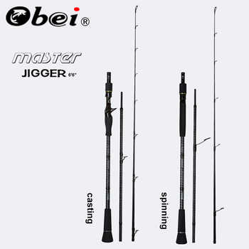 Obei MASTER Boat Fishing Rod Slow jigging  100-500G travel Spinning Casting lure rod 30-80IB fishing lure rod - DISCOUNT ITEM  45% OFF All Category