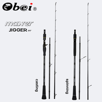 Obei MASTER Boat Fishing Rod Slow jigging 100 500G travel Spinning Casting lure rod 30 80IB fishing lure rod