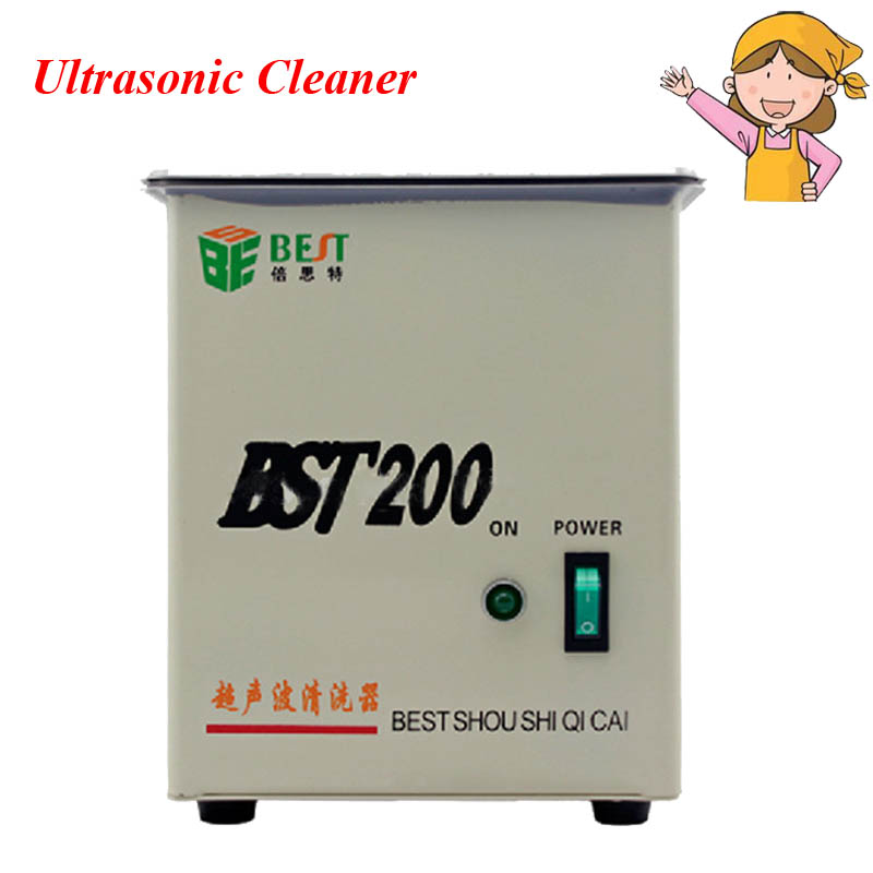 Stainless Steel Jewelry Cleaning Machine Household Practical Ultrasonic Cleaner from China Manufacturers BST-200 stainless steel jewelry cleaning machine household practical ultrasonic cleaner from china manufacturers bst 200